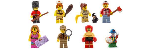 8805 Serie 5 Lego Minifiguren
