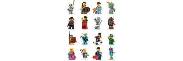 8827 Serie 6 Lego Minifiguren