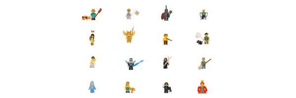 71011 Serie 15 Lego Minifiguren