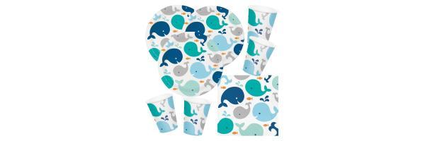 Baby - Kleiner Wal blau