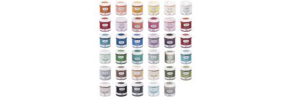 Kreativ mit Farben und Wachs