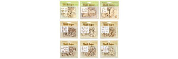 Wood shapes / Holzformen