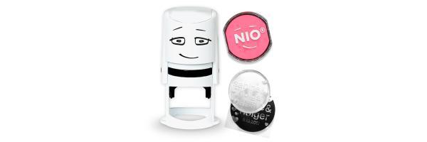 NIO Stempel und Stempelkissen