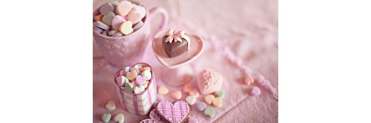 Voll verliebt in Valentinstag Deko - Geschenke zum Valentinstag. Deko, Tipps, Tricks, Ideen und Rezepte