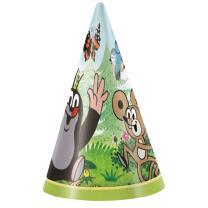 Der kleine Maulwurf - Partyhütchen, 8 Stück