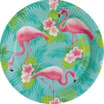 57-teiliges Party-Set Flamingo Paradise - Teller Becher...