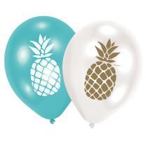 Ananas - Pineapple Vibes - Luftballons (Amscan), 6...