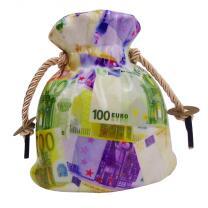 Spardose - Geldsack Euro