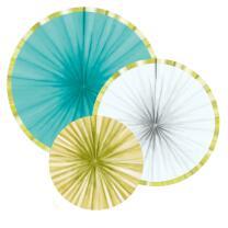 Ananas - Pineapple Vibes - 3 Dekofächer aus Papier...