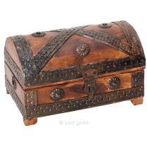 Piraten - Schatztruhe mini 18 x 11 x 11 cm