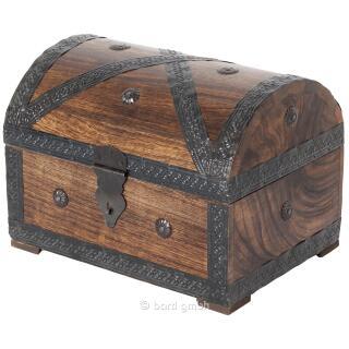 Piraten - Schatztruhe groß 28 x 19 x 20 cm