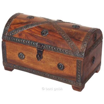 Piraten - Schatztruhe klein 23 x 15 x 15 cm