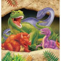 Dinosaurier - Dino Alarm  -  Tischdecke 137 x 274 cm aus...
