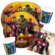 36-teiliges Party-Set Avengers Infinity War - Teller...