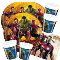 52-teiliges Party-Set Avengers Infinity War - Teller...