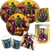 48-teiliges Party-Set Avengers Infinity War - Teller...