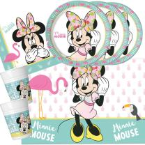 37-teiliges Party-Set Minnie Mouse - Minnie Tropical...