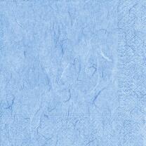 Servietten blau Seidenpapieroptik, 20 Stück 33 x 33 cm