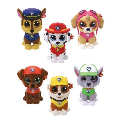 TY  Mini Boos Collectables Paw Patrol  6 cm - Minifiguren zum Sammeln - Auswahl
