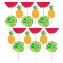 24 Früchte-Picks Sommer Melone Ananas