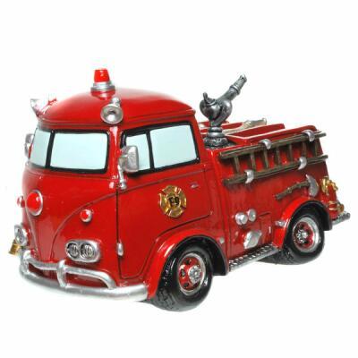 Spardose - Feuerwehrauto Nostalgie