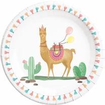 52-teiliges Party-Set Llama Lama Kaktus - Teller Becher...