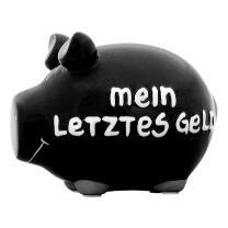 KCG Kleinschwein Keramik Sparschwein - Mein letztes Geld...