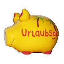 KCG Kleinschwein Keramik Sparschwein - Urlaubsgeld -  ca....