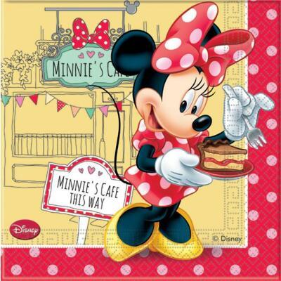 Minnie Café Servietten, 20 Stück