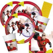 44-teiliges Party-Set Incredibles 2 - Die Unglaublichen 2...