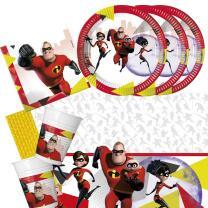 45-teiliges Party-Set Incredibles 2 - Die Unglaublichen 2...