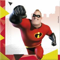 Incredibles 2 - Die Unglaublichen 2  -  Servietten 33 x...