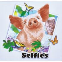 Diamond Dotz - Serie DD10 - Selfies Schwein