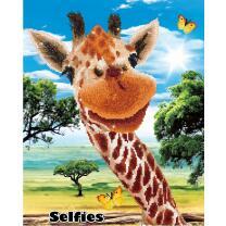 Diamond Dotz - Serie DD10 - Selfies Giraffe