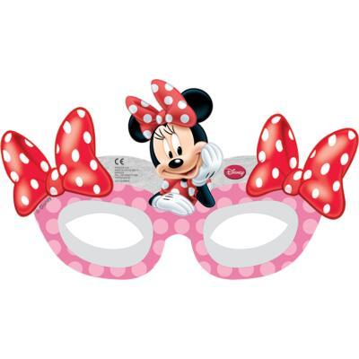 Minnie Café Masken, 6 Stück