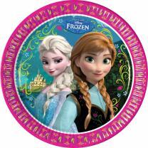 Frozen die Eiskönigin Teller, 8 Stück