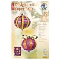 Ursus Designstreifen Paper Balls - Kugeln aus...