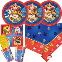 41-teiliges Party-Set Paw Patrol - Teller Becher...