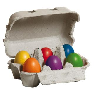 Erzi 71012 Eier bunt im Karton Kaufladenzubehör