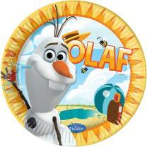 Frozen Olaf Teller, 8 Stück