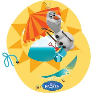 Frozen Olaf Einladungskarten, 6 Stück