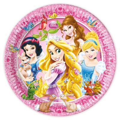 Princess & Animals Teller, 8 Stück