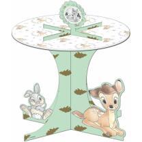 Bambi -  Premium Cupcake-Ständer  mit Metalliceffekt