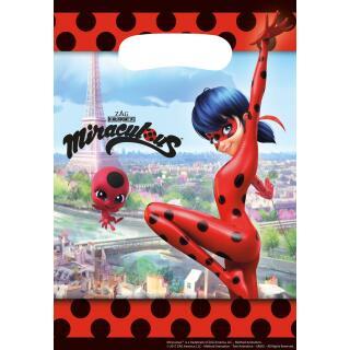 Miraculous Ladybug - 8 Partytüten