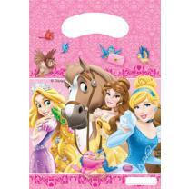 Princess & Animals Partytüten, 6 Stück
