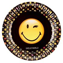 44-teiliges Party-Set Smiley Emoticons - Teller Becher...