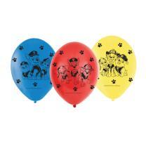 Paw Patrol - Luftballons, 6 Stück Design 2018