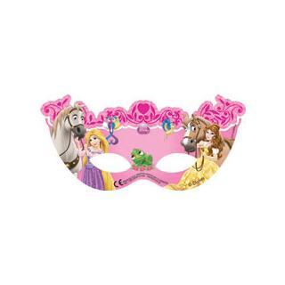Princess & Animals Masken, 6 Stück