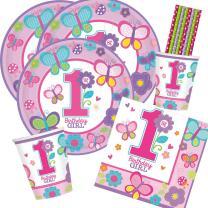 40-teiliges Party-Set 1. Geburtstag Sweet Birthday Girl -...