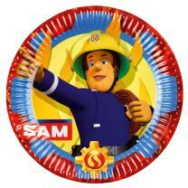 68-teiliges Party-Set Feuerwehrmann Sam - Teller  Becher...